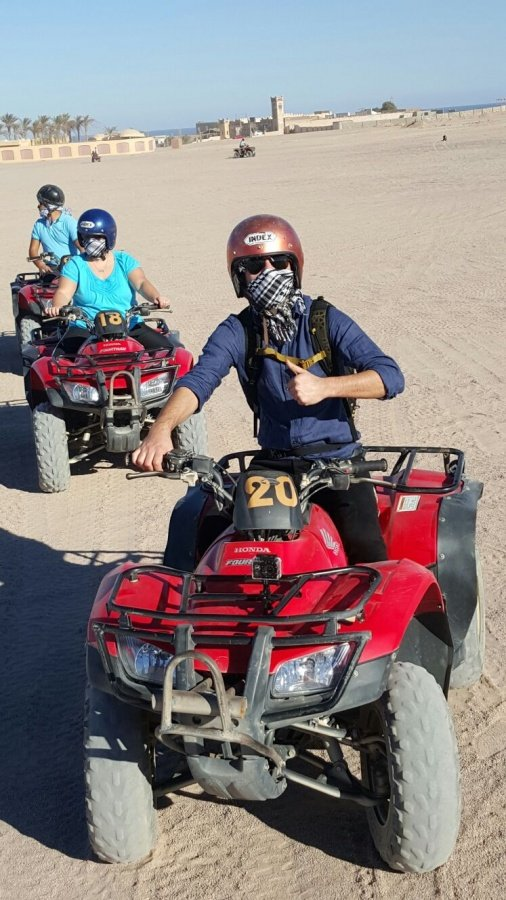 Hurghada Desert Safari Trip by Quad 20 € Discover Desert Red Sea