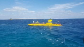 Sindbad Submarine Hurghada 35 € | A unique yellow submarine