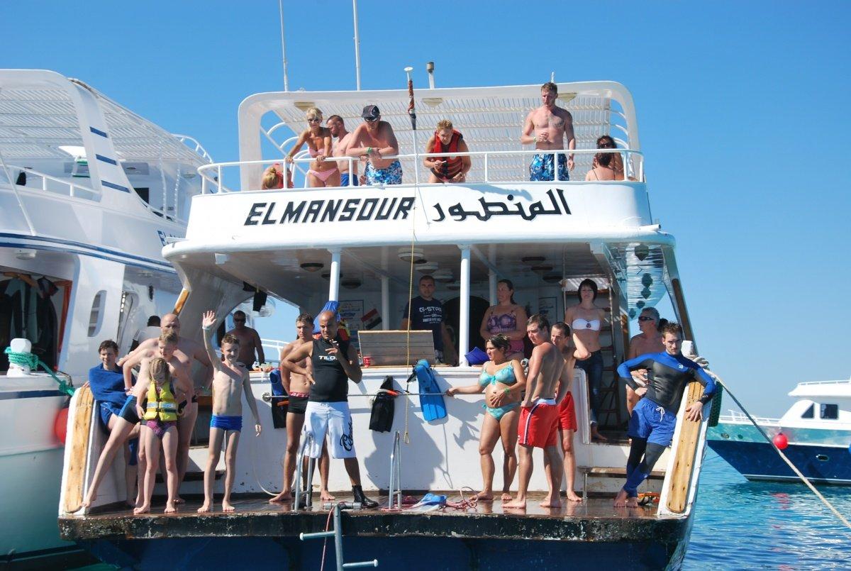 wyspa giftun wycieczki Hurghada Snurkowanie przy rafach koralowych
