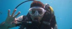 Búvárkodás Merülés a Vörös tengerben
