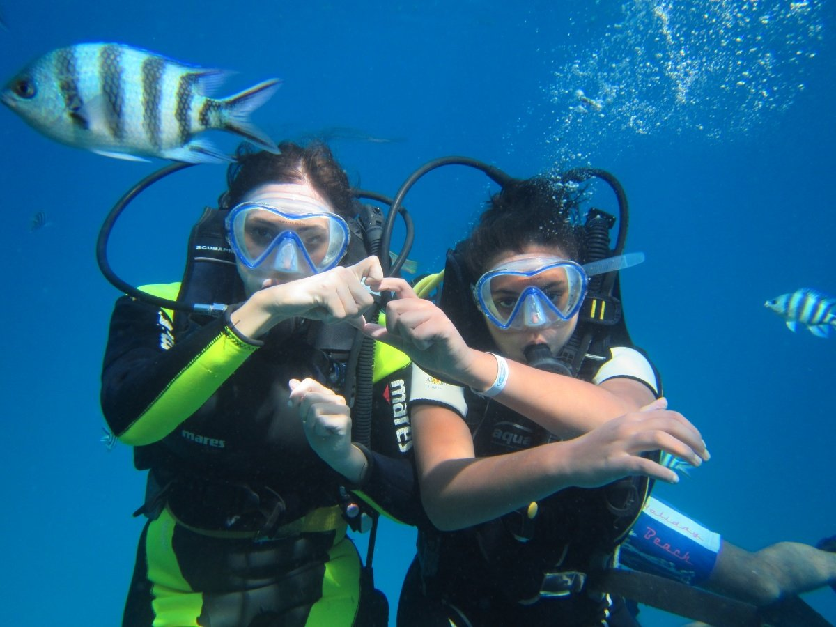 PADI Open Water Diving Course 275 € in Hurghada Egypt