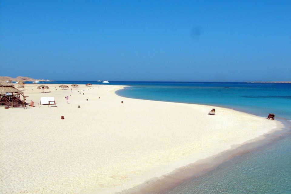 Wyspa Giftun w Hurghadzie