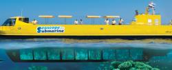 Üvegfenekű hajó Hurghada