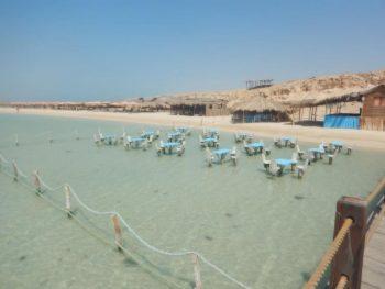 Orange bay Insel Hurghada 30 € | schnorcheln Sie am Traumstrand