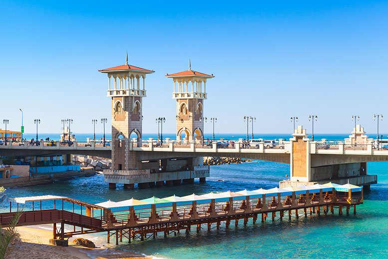 Alexandria second largest city in Egypt & rich historical