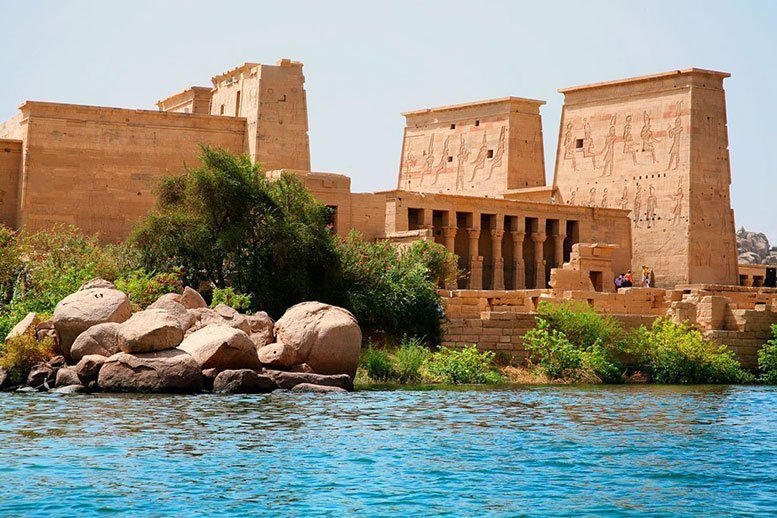 Aswan is the southernmost city in Egypt - Gateway to Africa