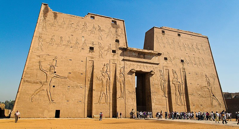 Edfu Temple Located around 85 kilometers south of Luxor