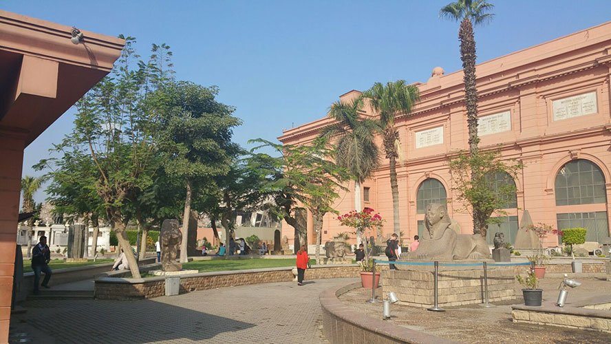 Egyptian Museum in cairo treasure trove of ancient Egypt