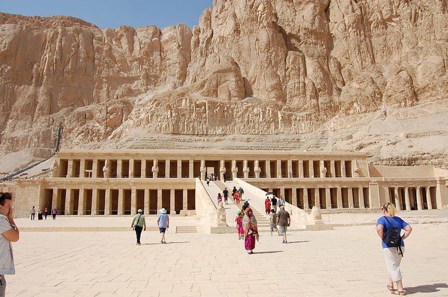 Hatschepsut Tempel Ägypten war eine Pharaonin im Alten Ägypten