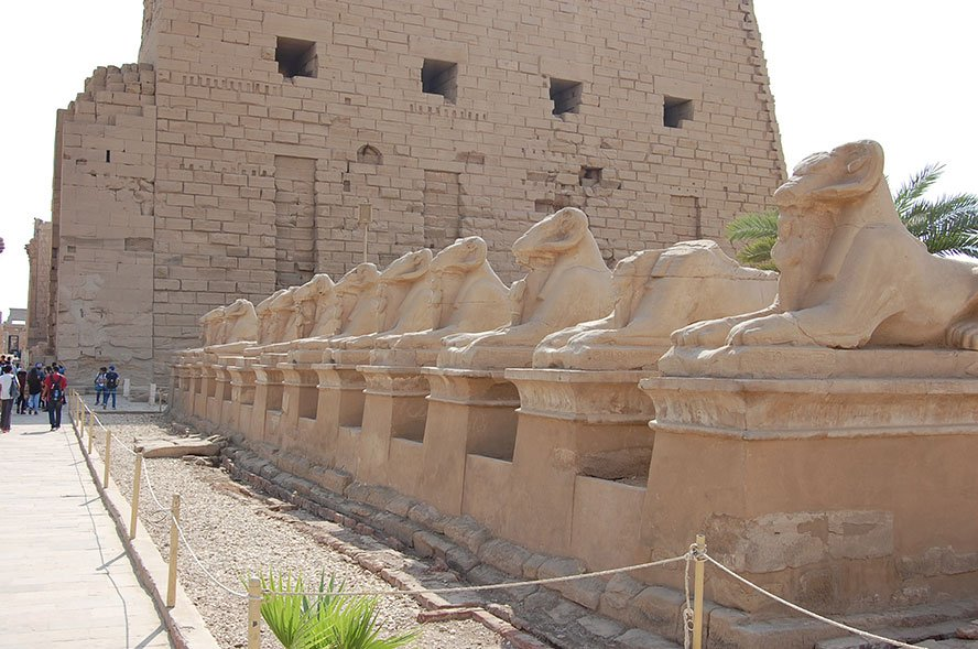 Luxor Egypt open air museum in the world | temple district in ancient Egypt