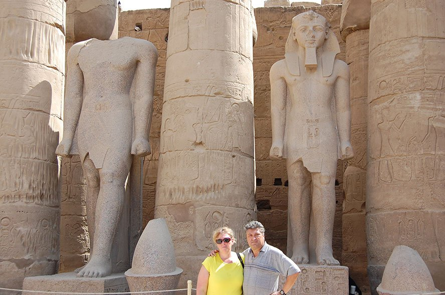 Luxor Egypt temples in Karnak & the Valley of the Kings