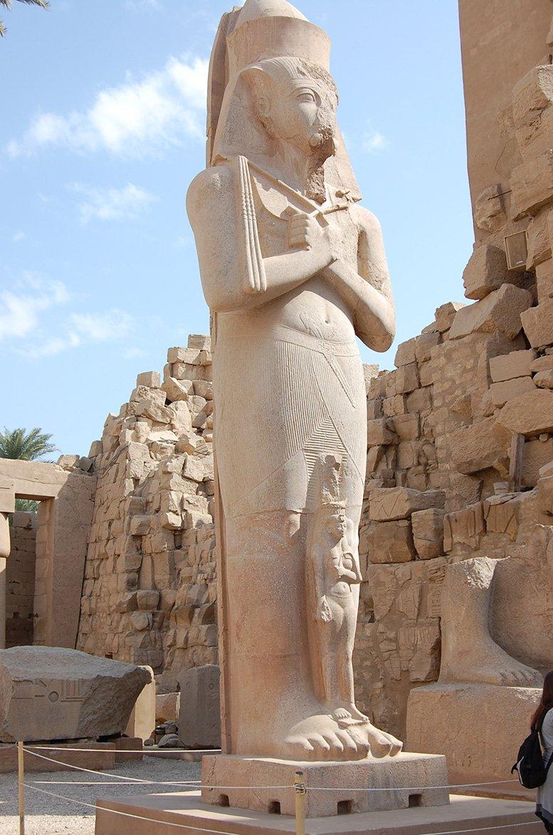 Luxor Stadt der Paläste. Sie ist das wohl beeindruckendste Open Air
