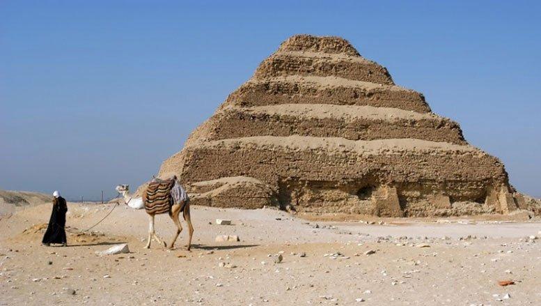 Sakkara pyramid Egypt burial site during the Old Kingdom
