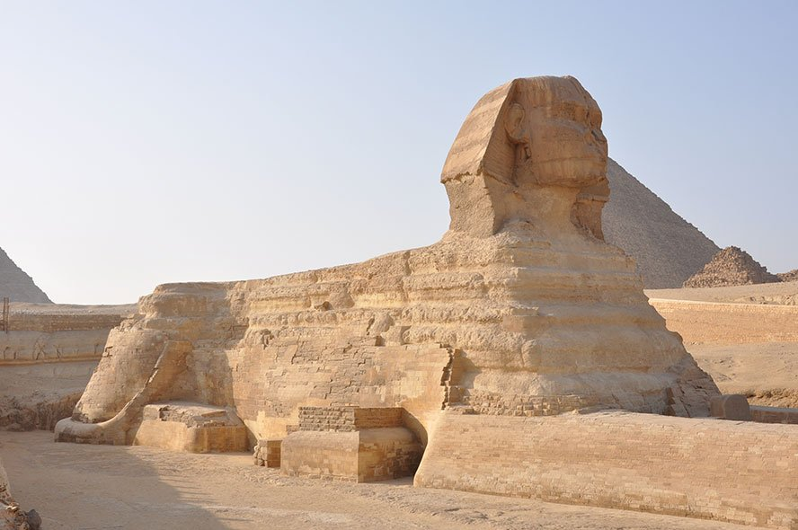 Sphinx Giza Egypt | Chephren between 2520 and 2494 BC