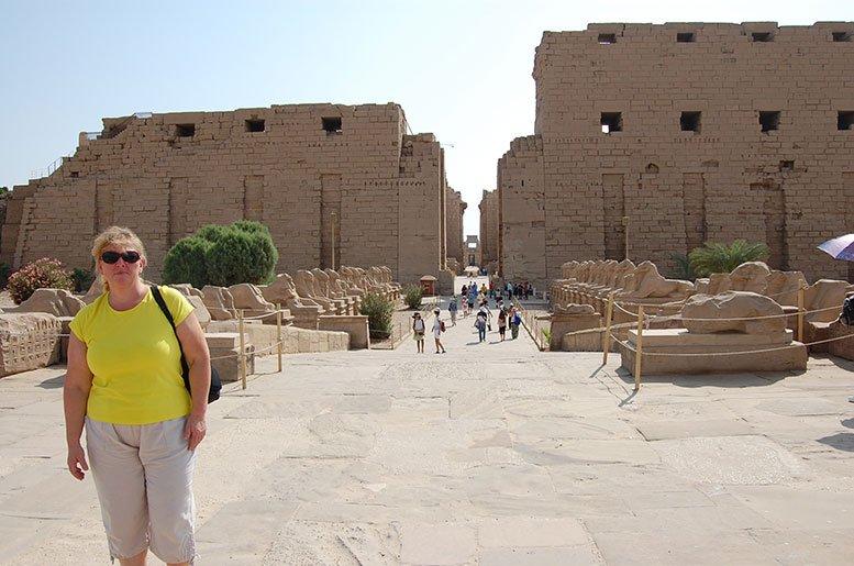 karnak tempel ägypten ist die größte Tempelanlage in Ägypten